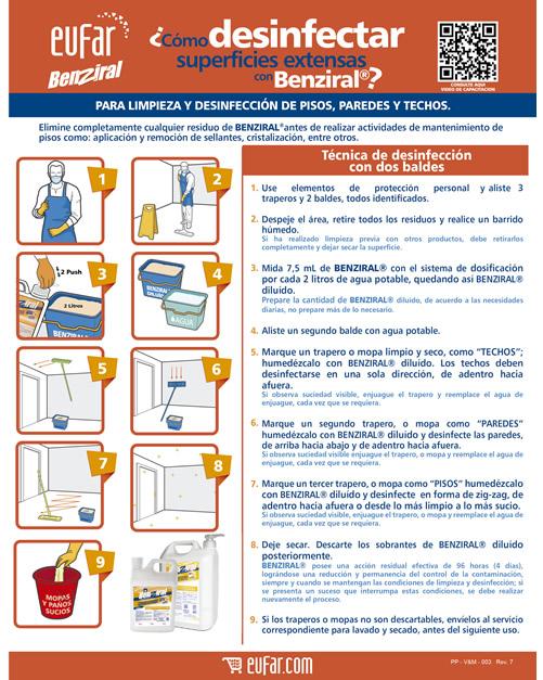 Protocolos de limpieza y desinfecci n pas a paso para for Manual de limpieza y desinfeccion para una cocina