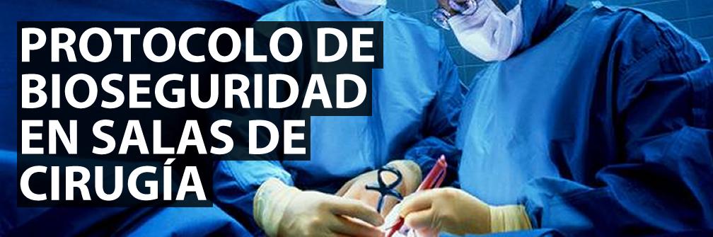 Limpieza y desinfeccion de salas de cirugía