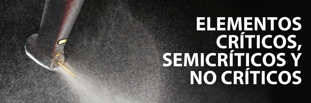 Elementos críticos, semicríticos y no críticos